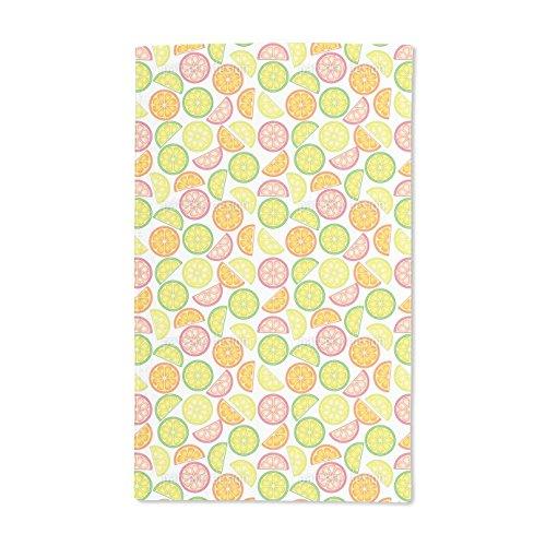 Rainbow Citrus Vitamins (Extra Soft Microfiber Hand Towel - Yummy Citrus - 15.5