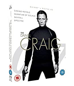 Amazon Com James Bond The Daniel Craig Collection 4
