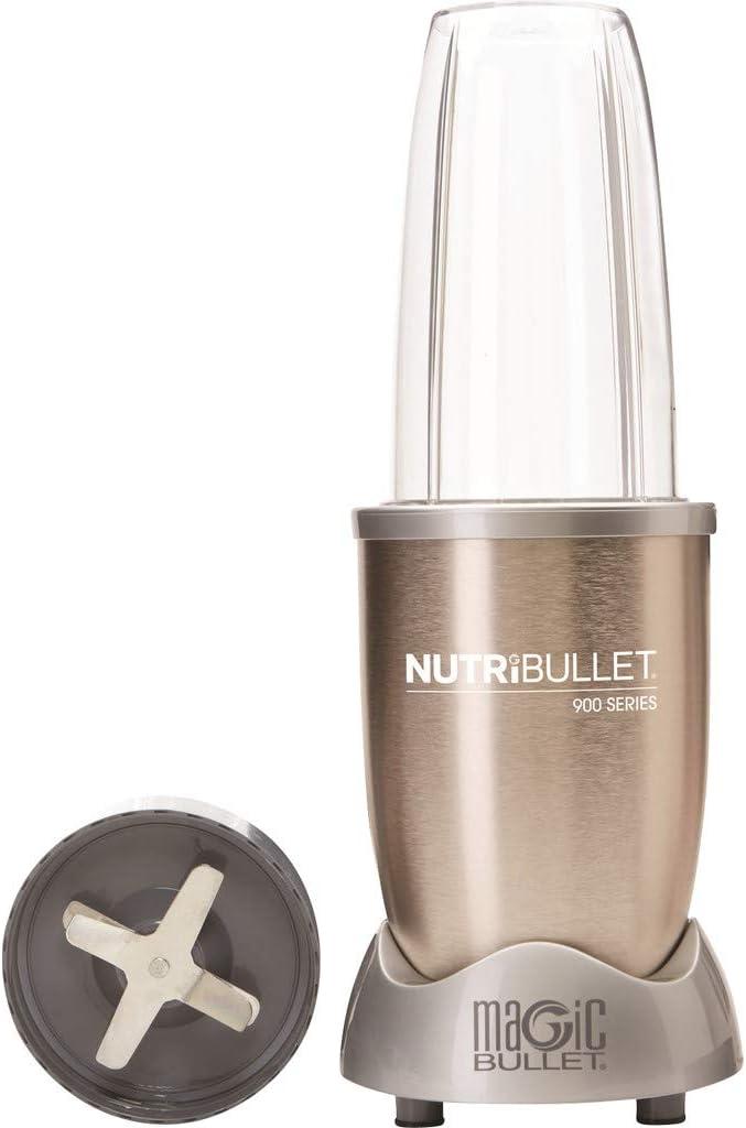 NUTRIBULLET 900 Watt PRO Licuadora de alta velocidad/ sistema de ...