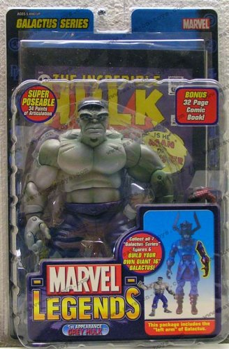 Marvel Legends Series 9 (Galactus Series) Action Figure - 1st Appearance Gray Hulk