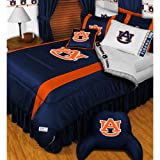 NCAA Auburn Tigers - 4pc BEDDING SET - Twin/Single Size