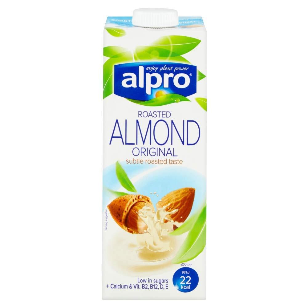 alpro almond milk vegan plant based milk best
