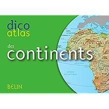 Dico atlas des Continents. 1789-1815