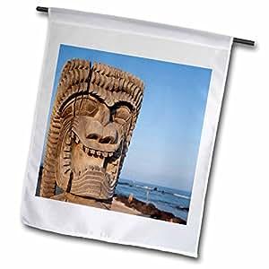 Danita Delimont - Hawaii - Puuhonua O Honaunau NHP, City of Refuge, Hawaii - US12 DPB1956 - Douglas Peebles - 18 x 27 inch Garden Flag (fl_89764_2)