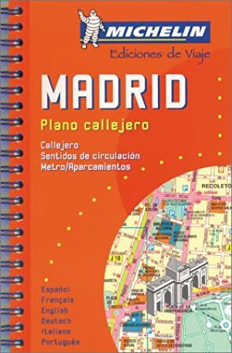 Michelin Madrid Mini Spiral Atlas No. 2042 (Michelin Maps & Atlases) by Michelin Travel Publications (2000 02 01)