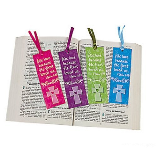 12 Religious John Bookmarks Cardstock product image