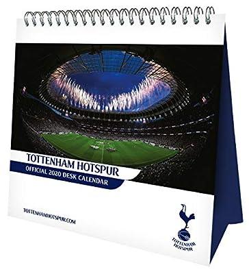 Tottenham Hotspur FC 2020 Desk Easel Calendar - Official Desk Easel Format Calendar