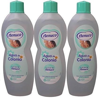 3 Nenuco Baby Cologne/agua De Colonia 20oz./600ml by Nenuco Cologne