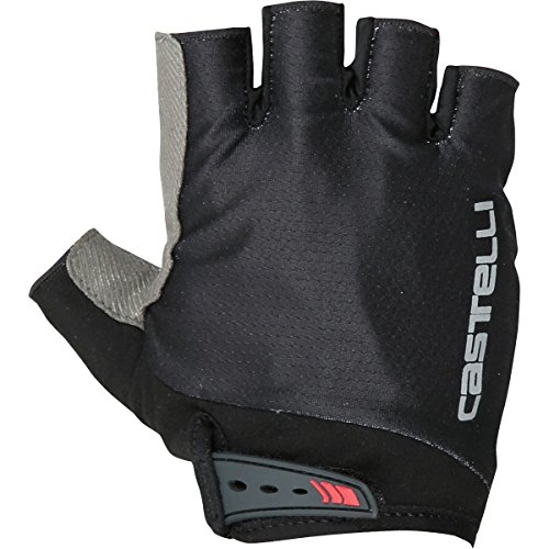 Castelli Mens Bike Glove - Castelli Entrata Glove - Men's Black, L
