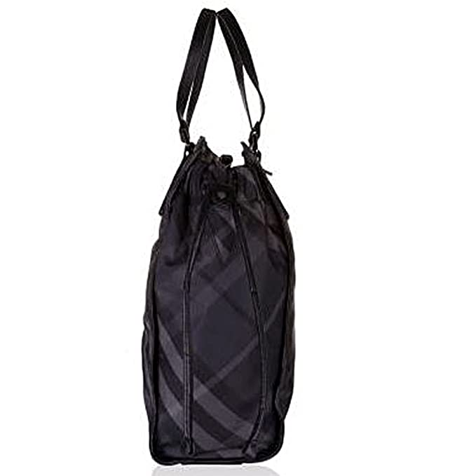 ccb30638984c Authentic BURBERRY Buckleigh Packable Nylon Shoulder Bag Travel Tote  Shopper  Amazon.ca  Clothing   Accessories