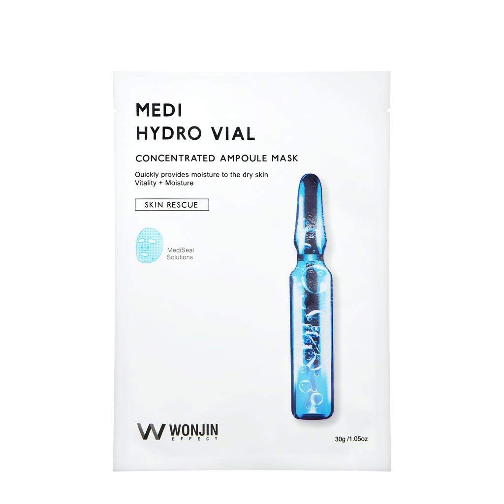 Amazon com : Wonjin Medi Hydro Vial Concentrated Ampoule Mask 10