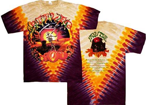 Tie Dyed Shop Grateful Dead Harvester Vintage Tie Dye T Shirt-Men-Women-Shortsleeve-Small