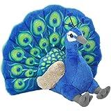 Wild Republic Cuddlekins Peacock Plush