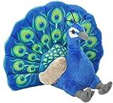 #4: Wild Republic Peacock Plush, Stuffed Animal, Plush Toy, Gifts For Kids, Cuddlekins, 12