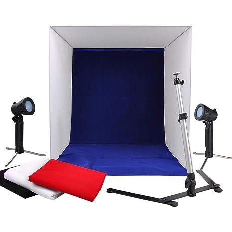 Amazoncom 24 Portable Photo Video Photography Cube Studio Light