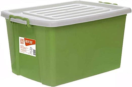 Shhaljj Caja de Almacenamiento plástica Grande de la Capacidad de ...