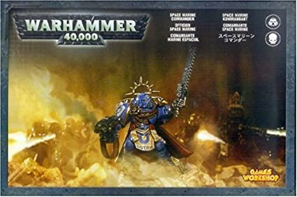 Buy Games Workshop Warhammer 40k Space Marine Commander