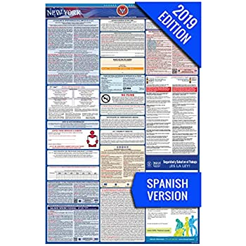 Amazon com : 2019 New York Labor Law Poster - State, Federal