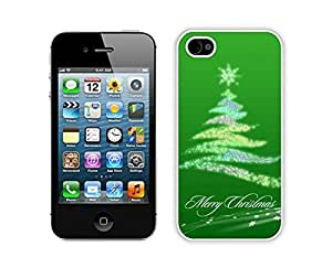 Design for Mass Customization Christmas tree White iPhone 4 4S Case 24