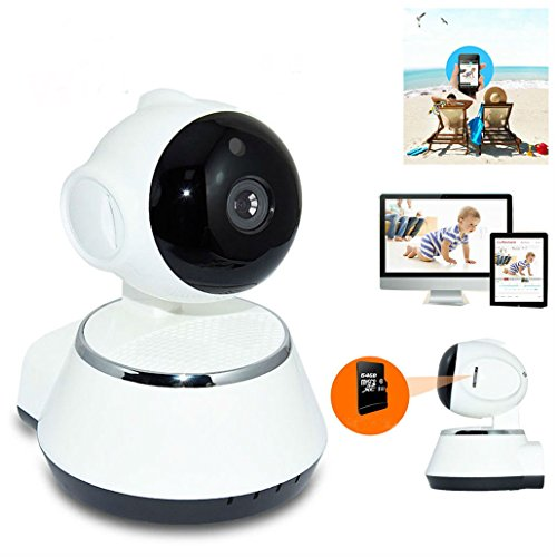 Price comparison product image Wireless 720P Pan Tilt Network Home CCTV IP Camera IR Night Vision WiFi Webcam