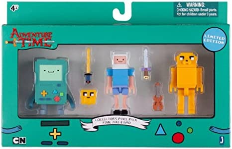 Adventure Time 14609 – Pack de Figuras Collector Pixel de BMO ...
