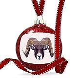 Christmas Decoration Geometric Animal art Ram Ornament