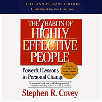 The 7 Habits of Highly Effective People: Powerful Lessons in Personal Change - Audiobook