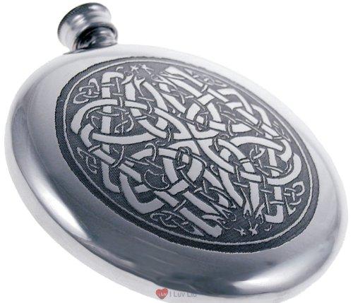Celtic Sporran Flask (4oz Celtic Circle Sporran Flask)