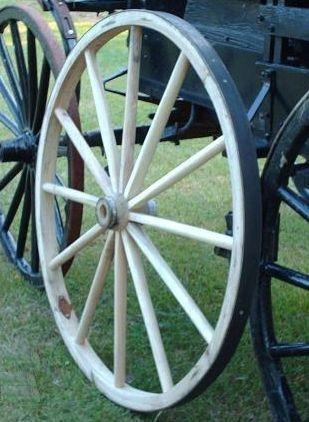 Amazon.com: Decorativos – Madera Wagon Rueda – 42 inch x 1 ...
