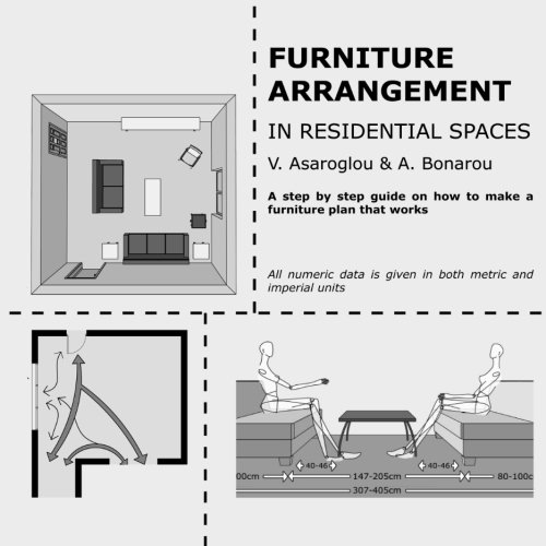Furniture arrangement: in Residential spaces