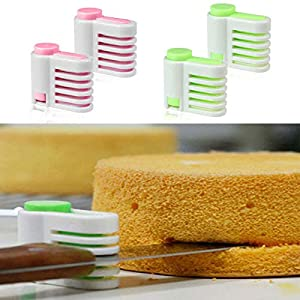 DIY Kitchen Tool Cake Bread Leveler 5 Layer Slicer Cutting Fixator