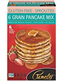 Pamela's Products Gluten Free Sprouted Pancake Mix, 6 Grain, 12 Ounce
