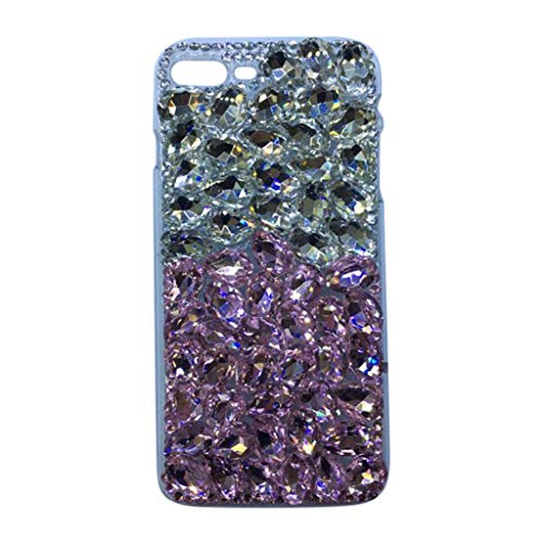 Orcbee  _for iPhone 7/8 Plus Bling Sparkle Jewels Case 3D Stunning Stones Cover 5.5 Inch ()