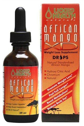 Gouttes de mangue d'Afrique - 59 ml - Liquid