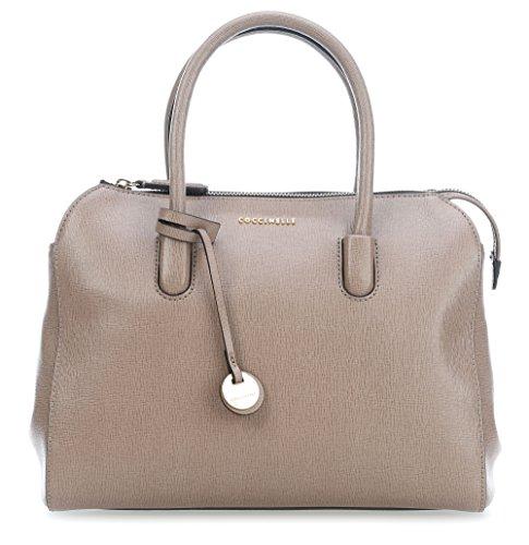 Coccinelle Clementine X taupe Grey Handtasche rgdxfHr