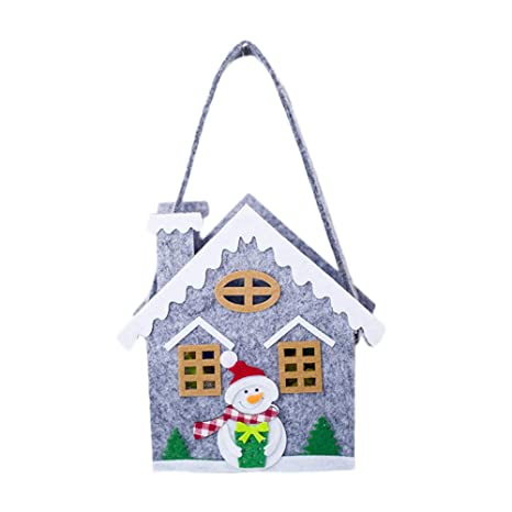 Scrox 1x Bolsa de Dulces de Navidad Decoración Creativo ...