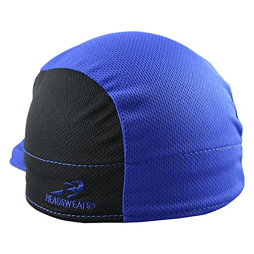Headsweats Shorty Cycling Cap, Blue, One Size by Headsweats (Image #1)
