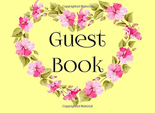Guest Book: Guest Books For 80th Birthday, Blank Lined Guest Book For Birthdays, (8.25