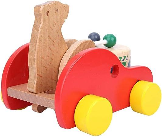 Amazon 面白い音楽ドラムおもちゃ 滑らかな子供音楽おもちゃ 赤ちゃんが子供の誕生日プレゼントをプレイするための ドラム 打楽器 おもちゃ