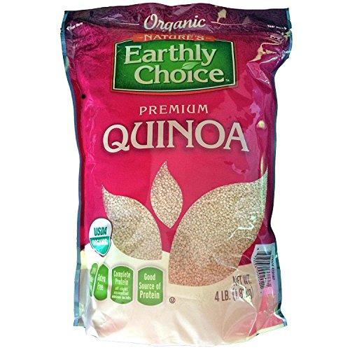 Nature's Earthly Choice Premium Organic Quinoa (4 lbs.) (pack of 6) by Nature's Earthly Choice