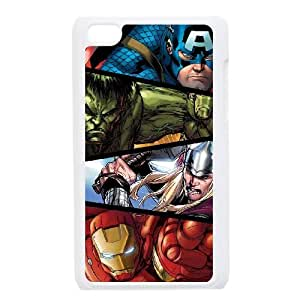 Marvel comic iPod Touch 4 Case White Delicate gift JIS_232814