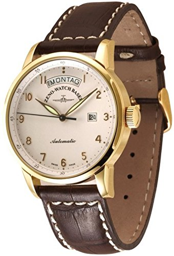 Zeno-Watch Mens Watch - Magellano Big Day 18ct gold - 6069DD-GG-f2