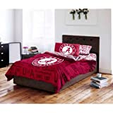 NCAA Twin/Full Comforter and Twin Sheet Set, University of Alabama