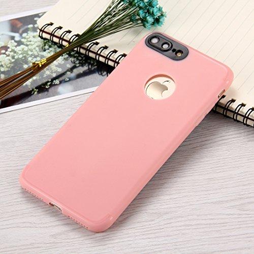 MXNET IPhone 7 Plus Fall, Ultra-dünner TPU mattierter schützender rückseitiger Abdeckungs-Fall CASE FÜR IPHONE 7 PLUS ( Color : Pink )