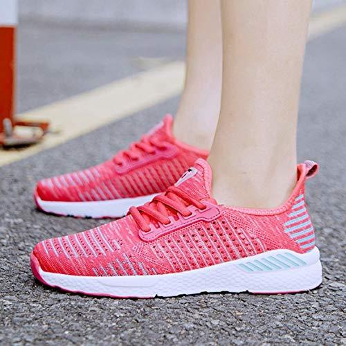 Maille Saisons Les Chaussures Toutes Sport Pour Lacets Confortables À De Jogging En Respirante Décontractée fxqvtFw