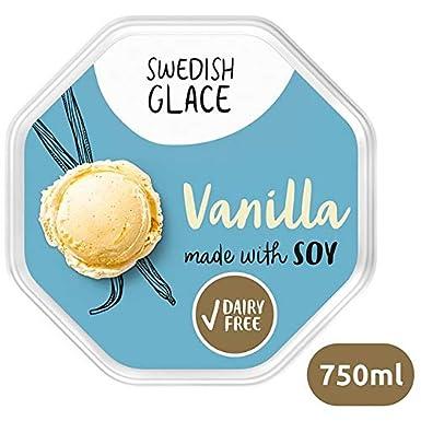 Swedish Glace Soja Sin Lácte Vainilla 750ml | Congelada ...