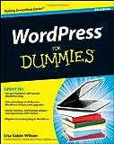 WordPress for Dummies, Lisa Sabin-Wilson, 1118073428