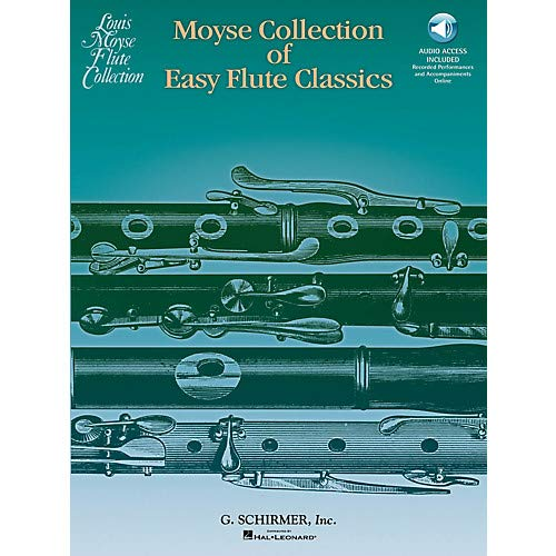 - Moyse Collection of Easy Flute Classics Woodwind Solo Series Softcover Audio Online- Pack of 2