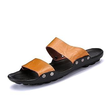 bd3cbebbe4a366 Men's Solid Flat Bath Slippers Flip Flop Wedge Sandals Slide Platform  Thongs Open Toe Soft Indoor