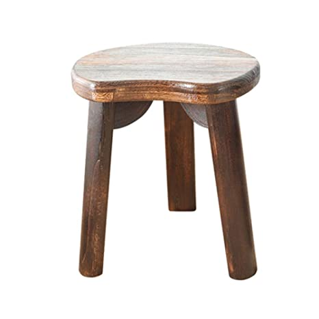 Stupendous Amazon Com Zhangqiang Round Stool Sturdy Stool Chair Ocoug Best Dining Table And Chair Ideas Images Ocougorg